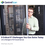 White Paper-5 Critical IT Challenges You Can Solve Today with a Managed UTM Firewall Service